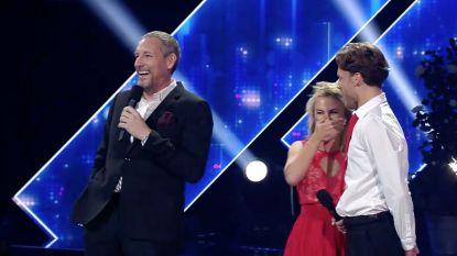 """Kat Kerkhofs zet Gert Verhulst op zijn plaats in 'Dancing With The Stars': """"Tien punten voor die 'burn'"""""""