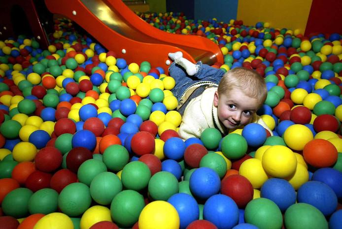 Spelen in Smalland van de Ikea. Archieffoto Cor de Kock.