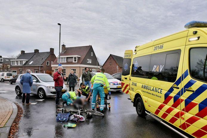 November 2018: meisje op de fiets aangereden op een rotonde van de Moergestelseweg in Oisterwijk.