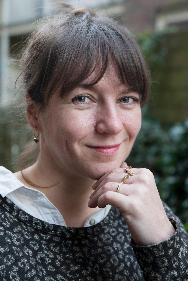 Nadine Kieft: 'Op meerdere dagen in de week heb ik klanten die een sieraad willen laten ontwerpen' Beeld Charlotte Odijk