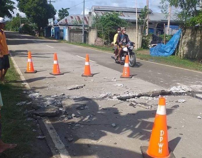 Archiefbeeld. In augustus werden de Filipijnen ook al getroffen door een aardbeving met een sterkte van 6,7 in de provincie Masbate. (18/08/2020)