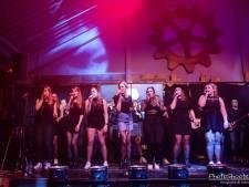 Fabulous Fif-teen Live: Achterhoekse band heeft maar liefst 15 zangeressen