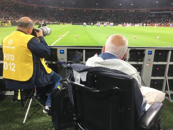 Drontenaar Joop zat eersterangs bij Ajax: een droom die uitkwam.