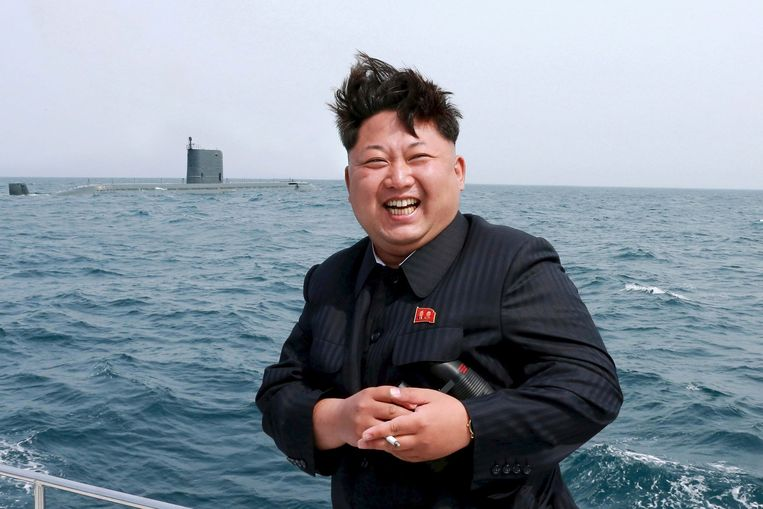 Kim Jong-un Beeld getty