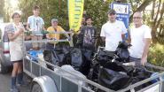 World Clean Up Day in Schelle: Natuurpunt verzamelt aanhangwagen vol zwerfvuil
