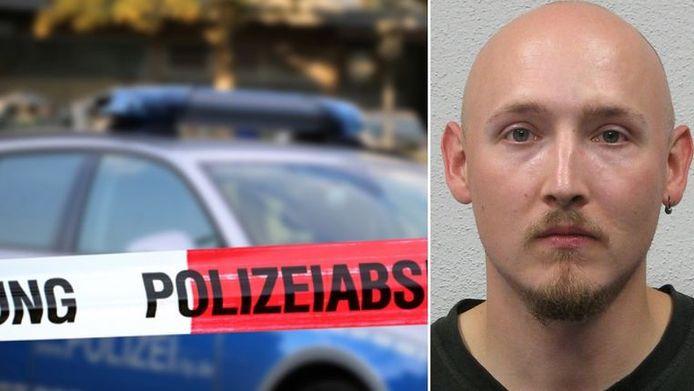 De politie is volgens Bild op zoek naar de 31-jarige Yves Rausch.