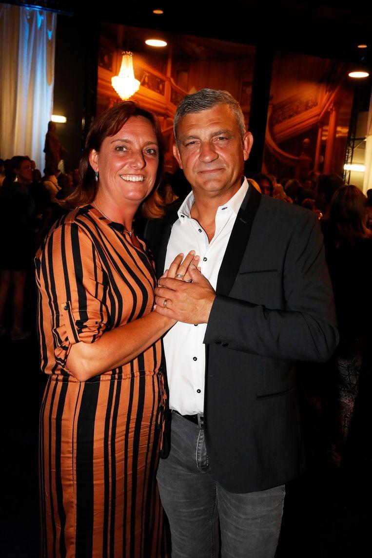 Peter Bulckaen kreeg steun van zijn partner Tine.