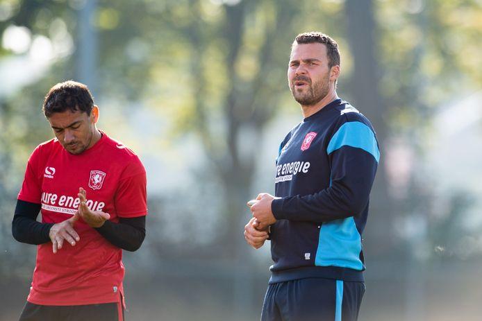 Balder Berckmans (rechts) kan blijven bij FC Twente.