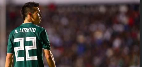 PSV-aanvaller Hirving Lozano meldt zich met spierblessure af voor interlands van Mexico
