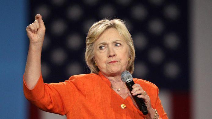Presidentskandidate Hillary Clinton