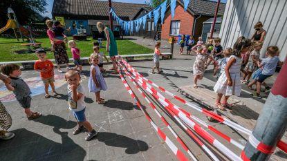 """Kleuters beleven tweede eerste schooldag:  """"Hier en daar een traantje, maar uiteindelijk is alles vlot verlopen"""""""