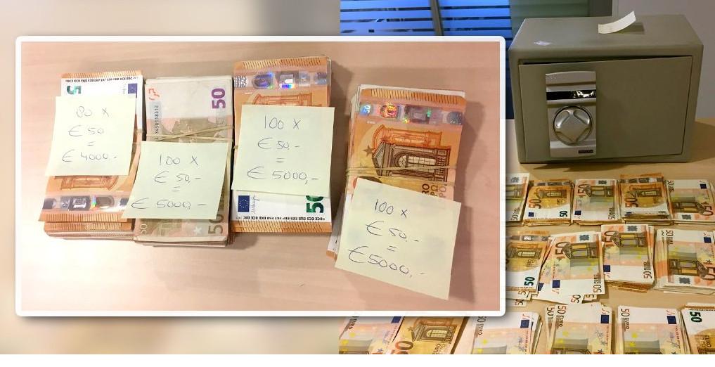 De FIOD vermoedt dat de man een katvanger is die zijn bankrekening laat gebruiken door derden.