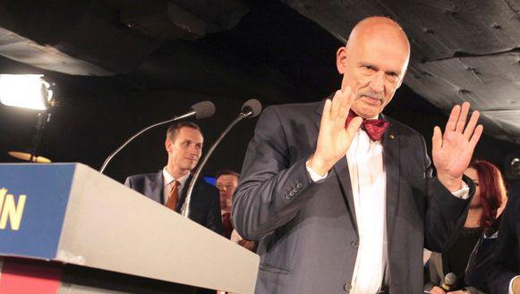 Europarlementariër Janusz Korwin-Mikke (74).