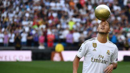 De indrukwekkende voorstelling van Hazard in vogelvlucht: Madrileense fans sluiten Belg meteen in hun harten