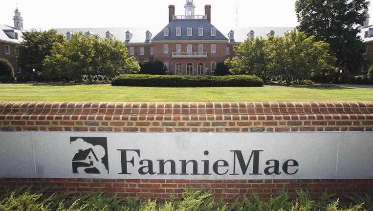Het hoofdkwartier van Fannie Mae in Washington.