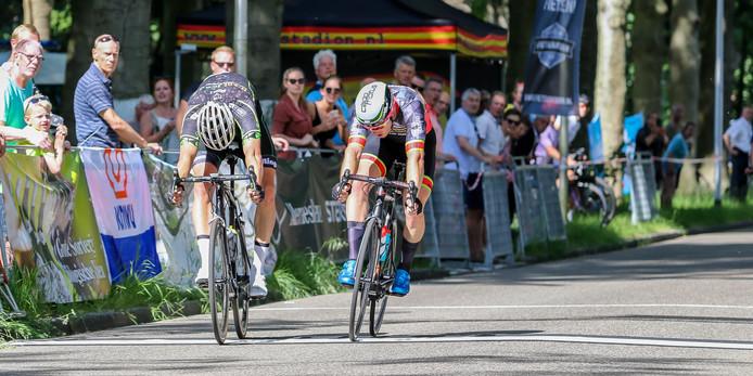Finish Ronde van Zeist.