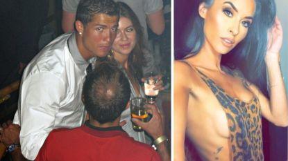 """Model dat ooit poedelnaakt naar zijn hotel reed, zegt bewijzen te hebben tegen Cristiano Ronaldo: """"Hij is een psychopaat"""""""