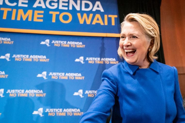 Hillary Clinton verloor in 2016 de presidentsverkiezingen van Donald Trump.