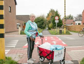 Een propere stad? In het spoor van zwerfvuiljager Lieve (68): drie keer per week op zwerfvuiltocht, 6 uur lang en tot 15 kilometer ver
