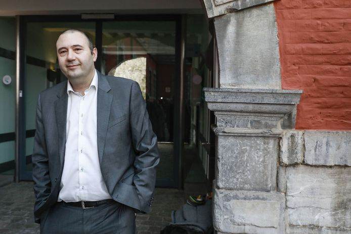Le bourgmestre de Huy, Christophe Collignon.