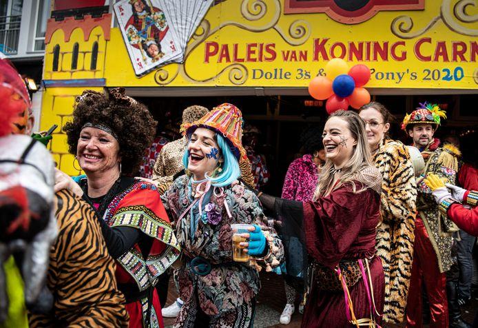 In de polonaise op de Markt in Eindhoven, voor carnaval 2020 écht aftrapt.