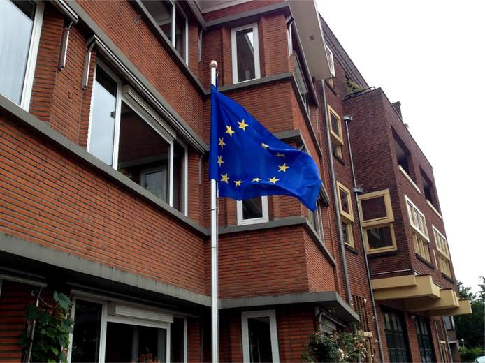 EU-vlag Sonneveld