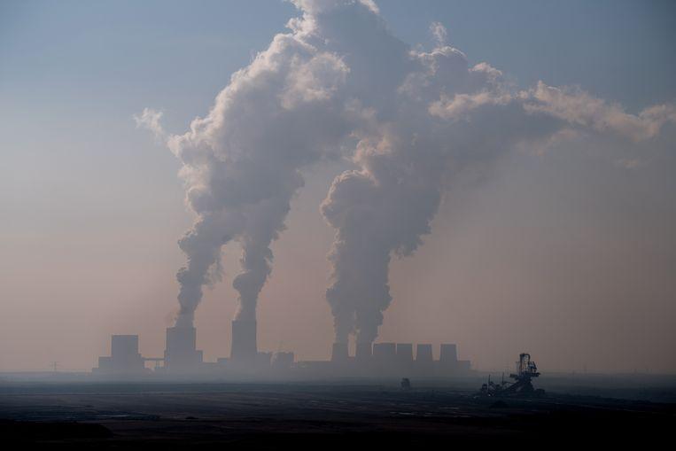 Energie wordt opgewekt in Boxberg, Duitsland. Beeld Monika Skolimowska/dpa-Zentralbi