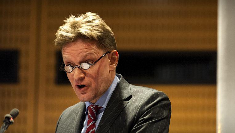 Rob Bats in 2013, toen nog burgemeester van Haren. P., die aanspreekpunt was voor de VVD-kandidaten, zou deze informatie hebben overgebracht aan VVD-kandidaat Bats Beeld anp