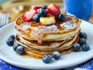 Ontbijten met pannenkoeken kan ook zo!