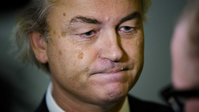 Journalisten en politici kunnen allemaal de rambam krijgen van Geert Wilders.