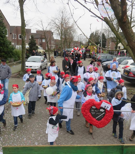 Uitslag optocht Mierlo 2017