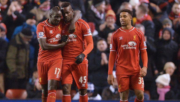 Erg gelukkig ziet hij er niet uit, maar Mario Balotelli heeft wel degelijk gescoord voor Liverpool en mag zich zelfs matchwinnaar noemen.