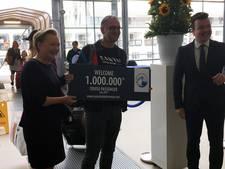 Rotterdam verwelkomt de miljoenste cruisereiziger