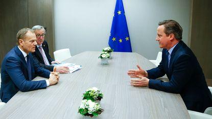 EU-top over migratie en Brexit levert na nacht onderhandelen nog altijd niets op
