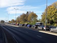 Bezoekers Margriet Winter Fair ziedend over verkeersinfarct: 'Ik kom hier nooit meer'