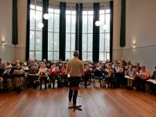 Blazersensemble Algaita treedt op in Theo Driessen Instituut in Helmond