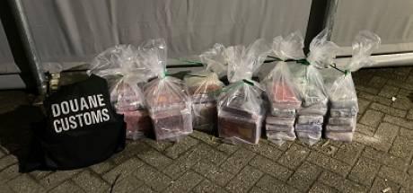 70 kilo cocaïne onderschept door Douane bij bedrijf in omgeving van Roosendaal tijdens reguliere controle