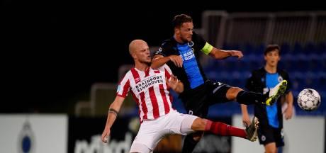 PSV onderuit in oefenduel met Club Brugge