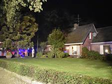 Veel rook bij schoorsteenbrand in buitengebied Geesteren