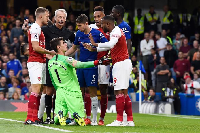 Eerder dit seizoen won Chelsea met 3-2 van Arsenal.