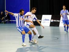Zaalvoetballers FC Eindhoven denderen halve finale binnen
