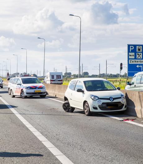 Veel vertraging op N50 Kampen-Zuid door ongeluk