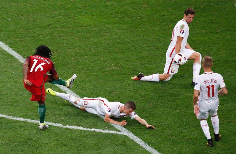 Met onder andere een goal tegen Polen in de kwartfinale maakte Sanches een grootste indruk op het EK.