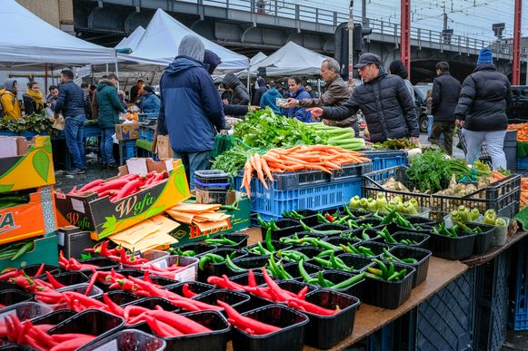 De Zuidmarkt in Sint-Gillis.