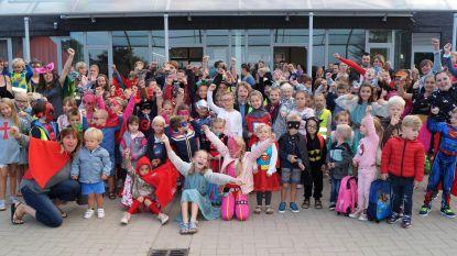 120 kleine superhelden in De Valke