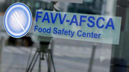 Terugroepingen van FAVV in 2018 meer dan verdrievoudigd