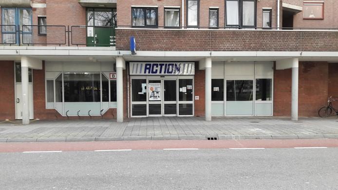 De Action in Wageningen is nu gestript en wordt de komende weken verbouwd