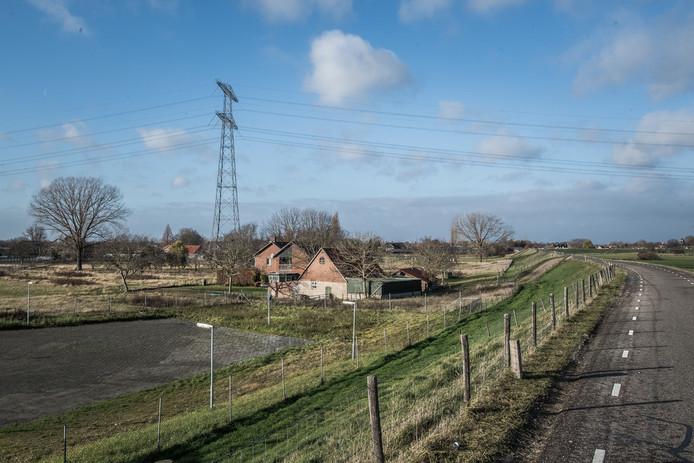 De Rijndijk in Angeren.