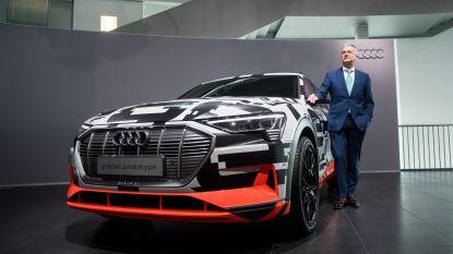 Brusselse Audi e-tron krijgt prijskaartje van 80.000 euro