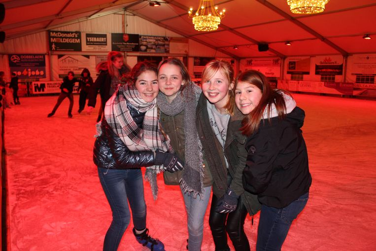 De ijspiste van Maldegem is nog open tot 10 maart.